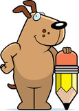 Dog Pencil Royalty Free Stock Photo