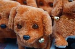 The dog plush toys Stock Images