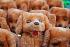The dog plush toys Stock Photo
