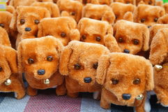 The dog plush toys Royalty Free Stock Photography