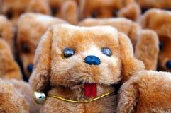 The dog plush toys Royalty Free Stock Image