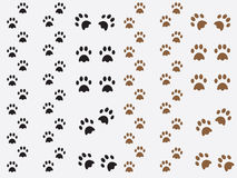 Dog prints Royalty Free Stock Photo