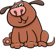 Dog or puppy cartoon Royalty Free Stock Images