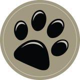 Dog Puppy Paw Print Stock Photo