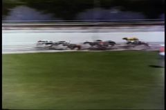 Dog racing stock video footage