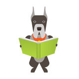 Dog read Royalty Free Stock Photo