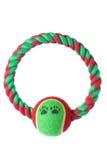 Dog Ring Toy. On White Background royalty free stock image