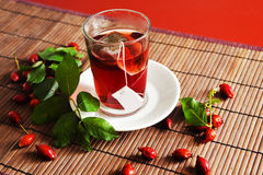 Dog rose tea Stock Photos