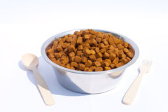 The dog's food Royalty Free Stock Images