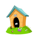 Dog's house Stock Photo