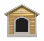 Dog`s kennel Stock Images