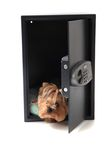Dog in the safe Royalty Free Stock Images