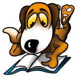 Dog school-boy Royalty Free Stock Photo