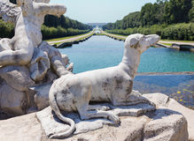Dog Sculpture classical royalty free stock photography