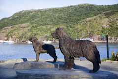 Free Dog Sculpture, St. John S, Newfoundland Royalty Free Stock Photography - 23856987