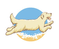Dog of the sea emblem Royalty Free Stock Photography