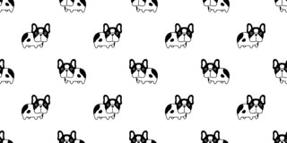 Free Dog Seamless Pattern French Bulldog Vector Repeat Wallpaper Scarf Isolated Tile Background Cartoon Puppy Pet Doodle Illustration D Royalty Free Stock Photos - 184433158