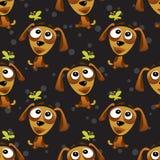 Dog seamless pattern Stock Photography