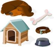 Dog set vector illustration