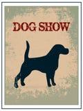 Dog show poster Royalty Free Stock Photos