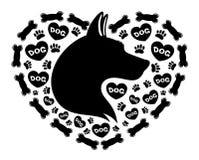 Dog sign. Stock Photo