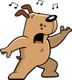 Dog Singing Royalty Free Stock Photo