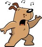 Dog Singing Royalty Free Stock Photo