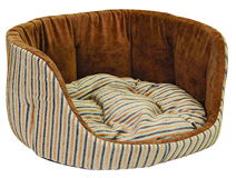 Dog sofa Stock Images