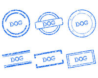 Dog stamps Royalty Free Stock Image