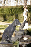 Dog statue Royalty Free Stock Photography