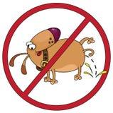 Dog stop Stock Photo