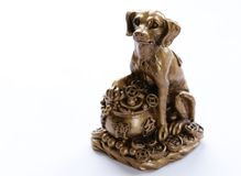 Dog symbol of the new year. Dog symbol of the eastern new year royalty free stock photography
