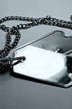 Dog tag 3 Stock Images