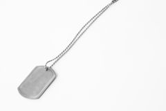 Dog Tag Stock Photography