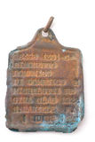 Dog tag of Italian soldier. Italy at the Second World War Stock Photos