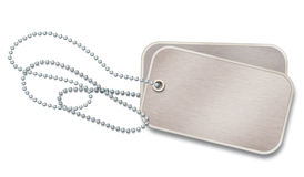 Dog Tags Id Stock Photography