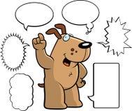 Dog Talking Stock Photography