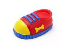 Dog Tennis Shoe. OLYMPUS DIGITAL CAMERA Dog Squeaky toy,isolated stock photography