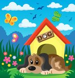 Dog thematic image 2 Royalty Free Stock Images