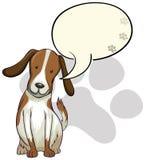 A dog thinking Stock Image