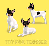 Dog Toy Fox Terrier Cartoon Vector Illustration Royalty Free Stock Photography