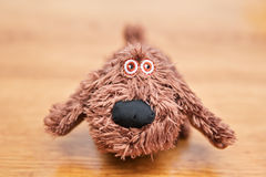 Dog toy head close-up Stock Images