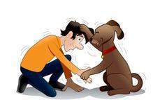 Dog training? Stock Photos