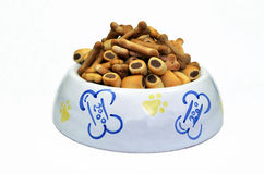 Dog biscuits Royalty Free Stock Photos