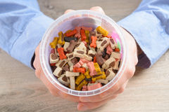 Dog treats Stock Photography