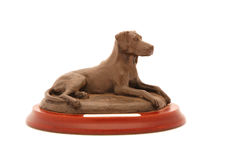 Dog trophy Royalty Free Stock Images