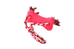 Dog tug rope toy Stock Images