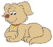 Dog (vector clip-art) Stock Image