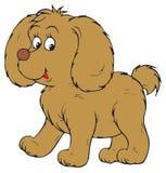 Dog (vector clip-art). Vector clip-art / children's illustration for your design Stock Image