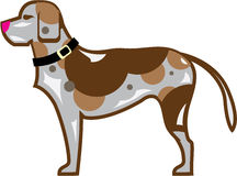 Dog vector file. Eps pet Royalty Free Stock Photos
